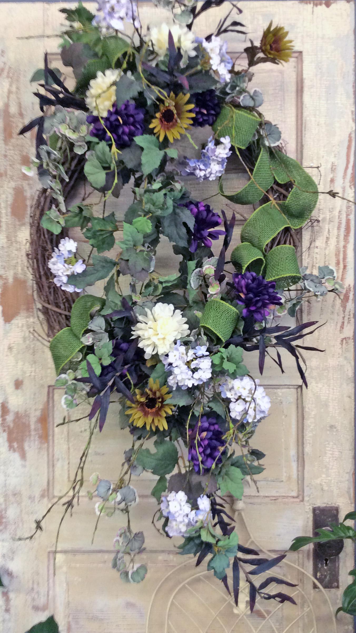 Large Door Wreath